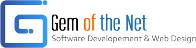 Gem of the Net ® Software, Website Design & Marketing | Jewelry, Legal, Dental & Medical Web services Logo