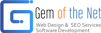 Gem of the Net ® Software, Website Design & Marketing | Jewelry, Legal, Dental & Medical Web services Logo